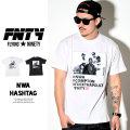 FNTY フライングナインティ 半袖TEEシャツ NWA HASHTAG FN1610008 6V1366