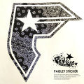 FAMOUS STARS&STRAPS ステッカー FP02160001 PAISLEY STICKER 6V3091