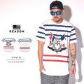 REASON リーズン 半袖Tシャツ SKIPPER TEE 545-1010 6V3227