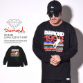 DIAMOND SUPPLY CO. ダイヤモンドサプライ 長袖Tシャツ NINETIES LONG SLEEVE T-SHIRT D16DMPC12 6V7246
