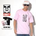 OBEY オベイ 半袖Tシャツ DEFIANT ROSE 163081524 7V3237