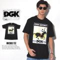 DGK ディージーケー 半袖Tシャツ RUCKUS TEE DT-3622 7V3308