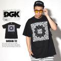 DGK ディージーケー 半袖Tシャツ BANDANA TEE DT-3827 7V4035