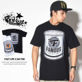 FAMOUS STRAS&STRAPS フェイマススターズアンドストラップス 半袖Tシャツ FAST LIFE CAN TEE FM03170033 7V5456