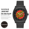 NIXON ニクソン コラボ リストウォッチ SANTA CRUZ COLLECTION TIME TELLER SANTA CRUZ A0452895 7V8027