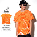 STAPLE ステイプル 半袖Tシャツ CITY DOVES ALL OVER TEE (1802C4223)