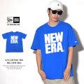 NEW ERA ニューエラ 半袖Tシャツ BIG NEW ERA ブルー×ホワイト (11556808)