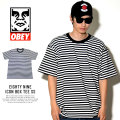 OBEY オベイ 半袖Tシャツ EIGHTY NINE ICON BOX TEE SS (131080227)