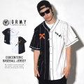 GRIMEY グライミー ベースボールシャツ EGOCENTERIC BASEBALL JERSEY (GBS105)