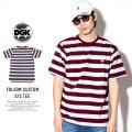 DGK ディージーケー 半袖Tシャツ FOLSOM CUSTOM S/S TEE (DSS-293)