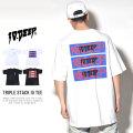 10DEEP テンディープ 半袖Tシャツ TRIPLE STACK III TEE (181TD4311)