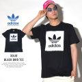 adidas アディダス 半袖Tシャツ SOLID BLACK BIRD TEE ブラック/ホワイト (CW2339)
