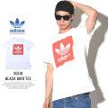 adidas アディダス 半袖Tシャツ SOLID BLACK BIRD TEE ホワイト/レッド (CW2341)