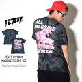 10DEEP テンディープ Tシャツ TENTH DIVISION MASSIVE TIE DYE TEE (181TD4322)