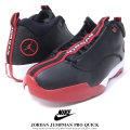 NIKE ナイキ スニーカー メンズ JORDAN JUMPMAN PRO QUICK ジョーダン ジャンプマン プロ クイック BLACK/WHITE/GYM-RED (932687-001)