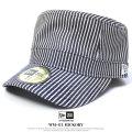 NEW ERA ニューエラ ワークキャップ メンズ 帽子 WM-01 HICKORY ブラック (11558968)