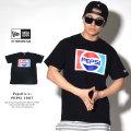 NEW ERA ニューエラ 半袖Tシャツ コラボ PEPSI ペプシ 1987 ブラック (11557878)