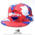 NEW ERA ニューエラ ベースボールキャップ コラボ 59FIFTY PEPSI ペプシ レッドカモ (11558025)