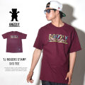 GRIZZLY グリズリー 半袖Tシャツ TJ ROGERS STAMP S/S TEE (GMB1801P26)