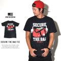 REASON リーズン 半袖Tシャツ SECURE THE BAG TEE (T9P-06B)