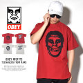 OBEY オベイ 半袖Tシャツ OBEY MISFITS TEENAGERS FROM MARS (166911769)