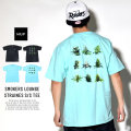 HUF ハフ 半袖Tシャツ 420 SMOKERS LOUNGE STRAINES S/S TEE (TS00556)