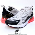 NIKE ナイキ スニーカー AIR MAX 270 BLACK/LIGHT-BONE/HOT-PUNCH (AH8050-003)