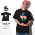 DGK ディージーケー 半袖Tシャツ DGK × HIGH TIMES CHEEBA TEE BLACK (PTM-1062)