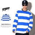 10DEEP テンディープ 長袖Tシャツ 24HR STRIPED L/S 183TD4011