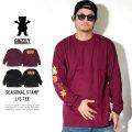 Grizzly Griptape 長袖Tシャツ SEASONAL STAMP L/S TEE GMC1802P17