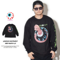 MISHKA ミシカ 長袖Tシャツ LAMOUR CHESTBURST KEEP WATCH L/S FM181301LS