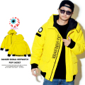 MISHKA ミシカ ジャケット DANGER SIGNAL KEEP WATCH PUFF JACKET MAW180652