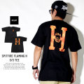 HUF ハフ 半袖Tシャツ SPITFIRE FLAMING H S/S TEE TS00739