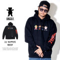 Grizzly Griptape グリズリーグリップテープ プルオーバーパーカー LIL' RAPPERS HOODY SMB1808P04