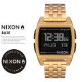 NIXON ニクソン 腕時計 リストウォッチ メンズ BASE ALL-GOLD (A1107502)
