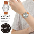 NIXON ニクソン リストウォッチ TIME TELLER SILVER/TAN (A0452853)