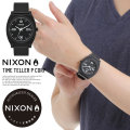 NIXON ニクソン リストウォッチ TIME TELLER P CORP MATTE-BLACK/WHITE (A12482493)
