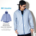COLUMBIA コロンビア ウィンドブレーカー SUNLIGHT MOUNTAIN FULL ZIP HOODIE PM5639