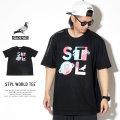 STAPLE ステイプル 半袖Tシャツ STPL WORLD TEE 1901C5143