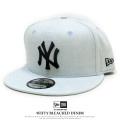 NEW ERA ニューエラ フラットバイザーキャップ 9FIFTY ブリーチデニム ニューヨーク・ヤンキース ブリーチデニム × ミッドナイトネイビー 11901182