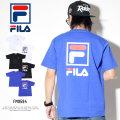 FILA フィラ 半袖Tシャツ ボックスロゴ バックプリント FM9594
