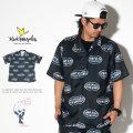 MARK GONZALES マークゴンザレス 半袖シャツ メタリックロゴ 2G8-4900