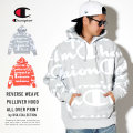 CHAMPION チャンピオン プルオーバーパーカー REVERSE WEAVE PULLOVER HOOD ALL OVER PRINT S2974
