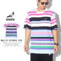 STAPLE ステイプル 半袖Tシャツ MULTI STRIPE TEE 1904C5382