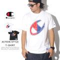 CHAMPION チャンピオン 半袖Tシャツ ACTION STYLE BIG C T-SHRIT C3-Q303