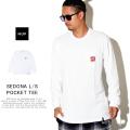 HUF ハフ 長袖Tシャツ SEDONA L/S POCKET TEE TS00876
