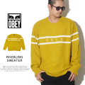 OBEY オベイ セーター ROEBLING SWEATER 151000041