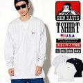 BEN DAVIS ベンデイビス ロンT 長袖Tシャツ メンズ 大きいサイズ ストリート アメカジ ファッション 通販 BETT004