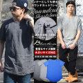 BLACK HORSE ブラックホース 半袖 ロング丈 tシャツ ラウンドカット カットソー メンズ 大きいサイズ ストリート系 モード系 hiphop ヒップホップ ファッション BHTT028