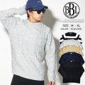 BROWN BAG LIQUOR ブラウンバックリカー セーター ニット メンズ カジュアル ストリート系 ファッション 通販 BBL-KNIT1704 BNPT024